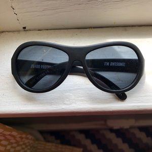 Babiators Black Plastic Kids Sun Glasses Ages 3-7